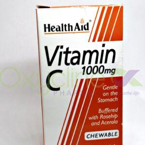 Health Aid Vitamin C 1g Chewabl