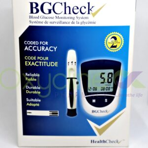Health Check Bg Meter