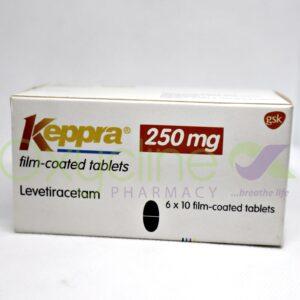 Keppra 250MG (Levetiracetam) X 10