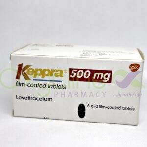 Keppra 500MG (Levetiracetam) X 10