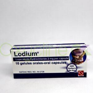 Lodium 2mg Loperamide