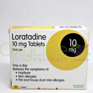 Loratadine (Afrab) Tabs 10mg X 10