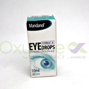 Mandanol Hypromellose Eye Drop