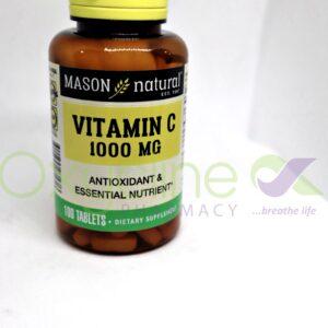 Mason Vitamin C1000mg