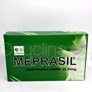 Meprasil 20mg X20cap Omeprazole