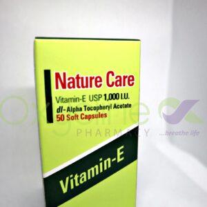 Nature Care Vitamin E 1000iux 50caps