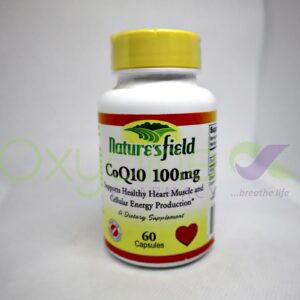 Natures Field Co Q10 100mg X 60