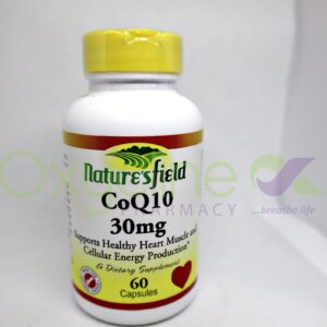 Natures Field Coq10 30mg X60