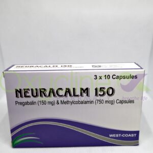 Neuracalm 150mg Caps X 10