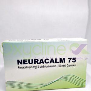 Neuracalm 75mg Caps X 10