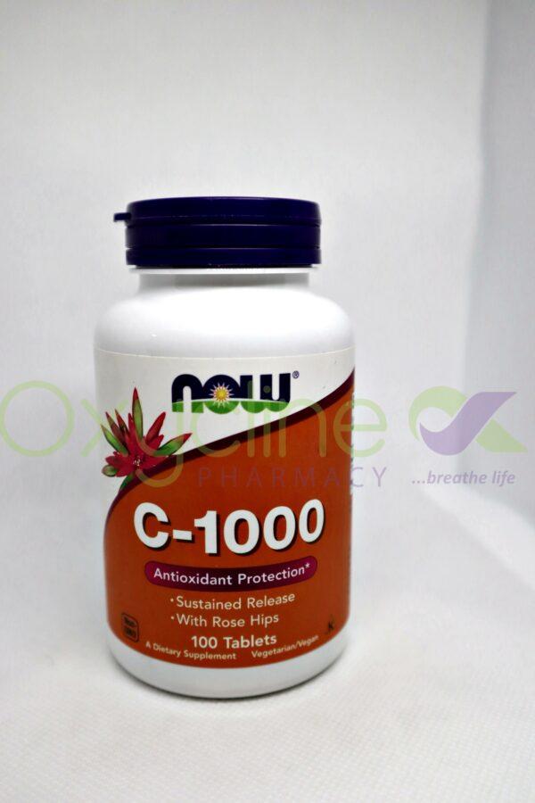 Now Vitamin C 1000mg X100