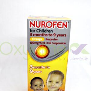 Nurofen For Child Susp (Orange(3mnth-9yrs 100
