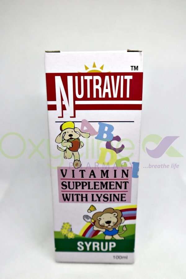 Nutravit Syrup Small