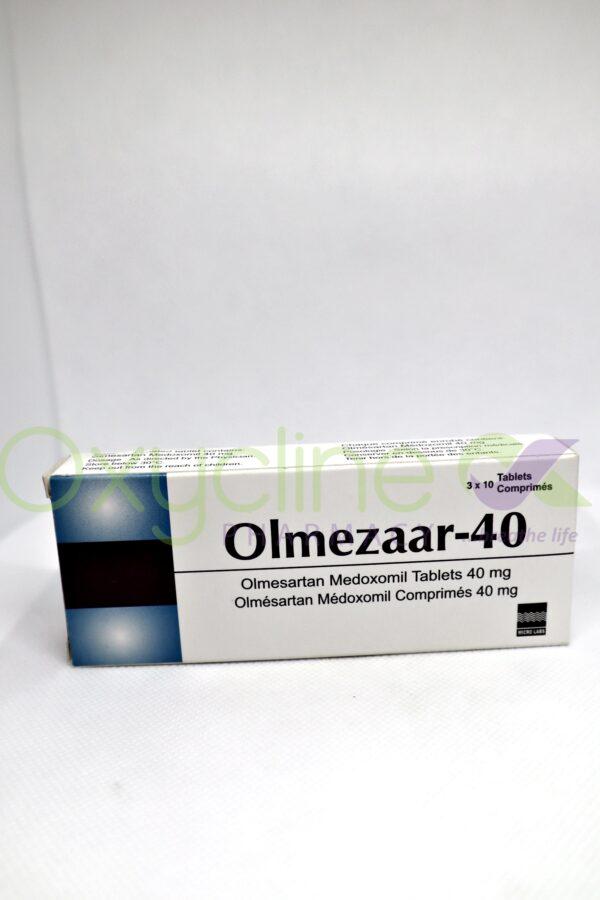 Olmezaar 40mg X30