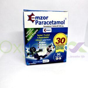 Paracetamol Tab Emzor