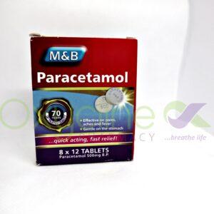 Paracetamol (M&B) Tabs 500mg X 96