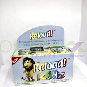 Reload 4 Kidz Chewable Tabs