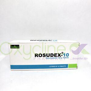 Rosuvastatin (Rosudex)-10mg Tabs X30