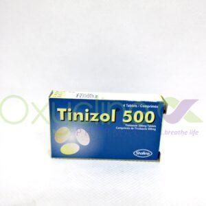 Tinizol 500mg X4 Tab Tinidazole