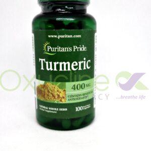 Turmeric 400mg ( Purtans Pride)