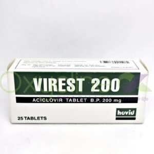 Virest 200MG Acyclovir X25