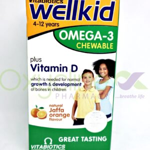 Wellkid Omega 3 Plus D Chewable Caps