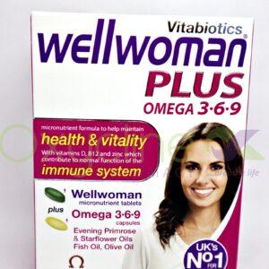 Well Woman Plus Omega 3.6.9 X 56