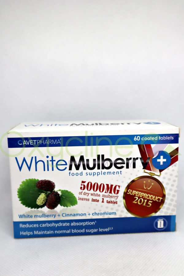 White Mulberry 5000mg X60