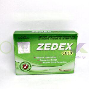Zedex Caps (Cold) X 10