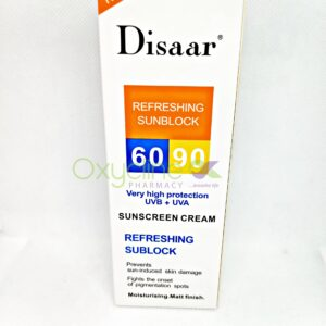 Disaar Refreshing Sunblock60/90