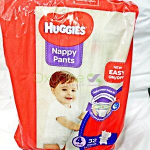 Huggies Nappy Pants Size4 X32
