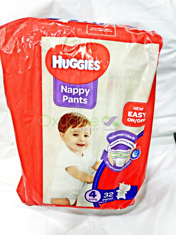 Huggies Nappy Pants Size4 X32