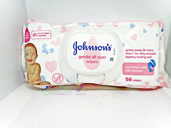 Johnson Wipes * 12