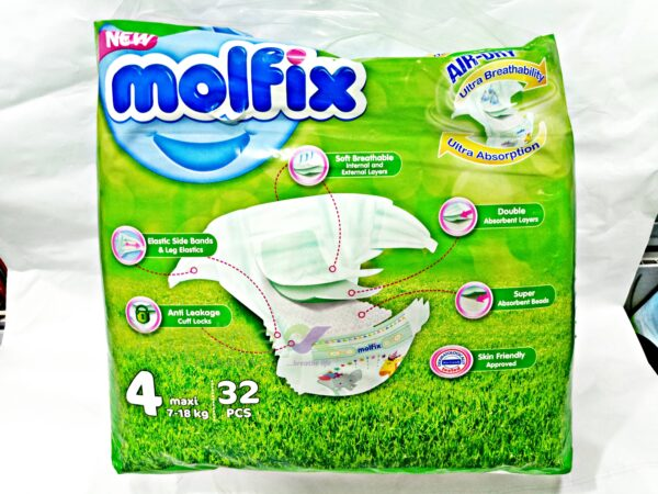 Molfix Size 4 X32