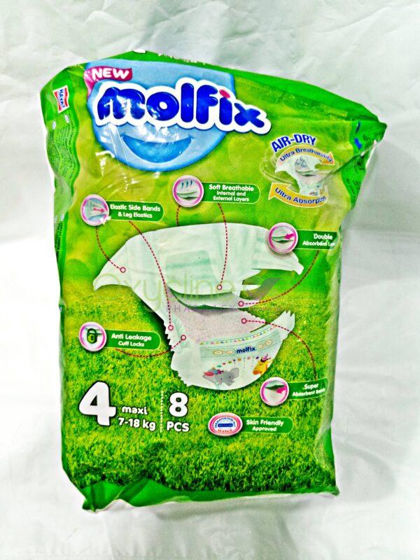Molfix Size 4 X8