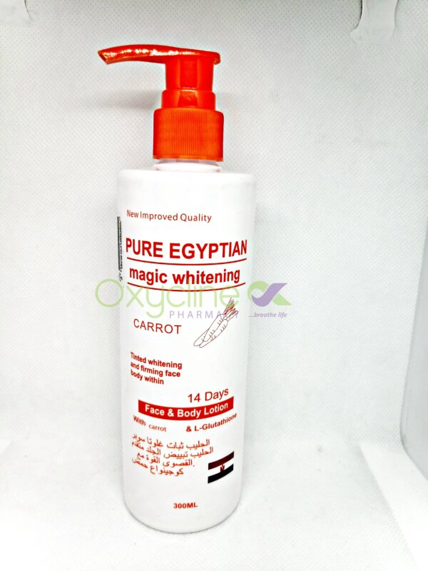 Pure Egyptian Carrot Lotion